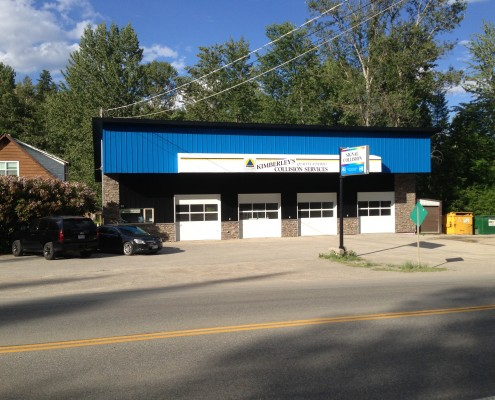 Kimberley's Collison Services 4 bay repair facility