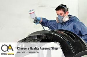 Choose a Quality Assured Shop