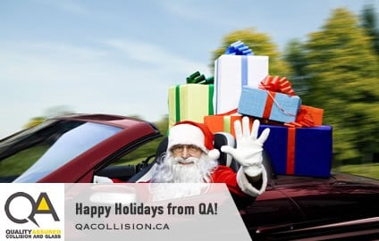 Happy Holidays from QA!