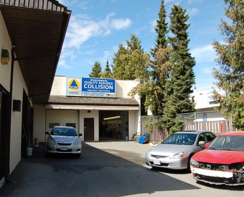 Meadowridge Quality Assured Collision front entrance