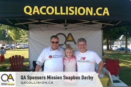 Raydar Autobody Sponsors Mission Soapbox Derby