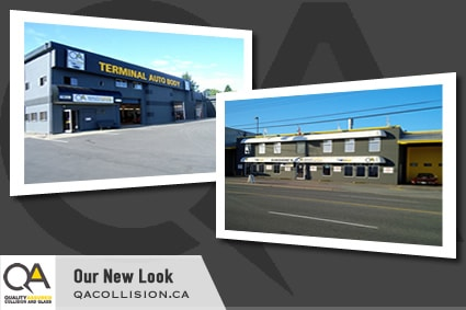 New Look for Terminal Auto Body Shop in Parksville BC
