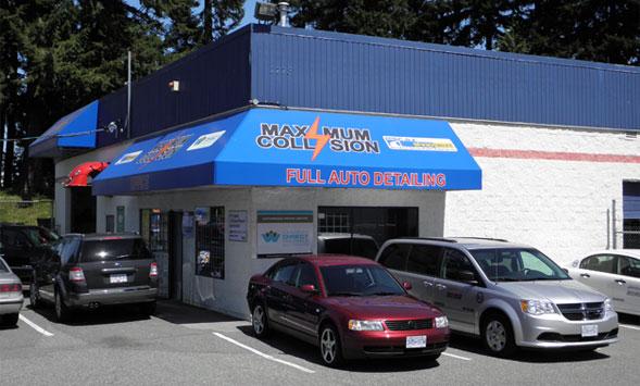 Maximum Collision Auto Body Shop in Abbotsford BC