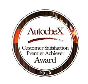 AutocheX 2010 Customer Satisfaction Premier Achiever Award