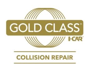 Large Logo - Gold Class I-CAR Collision Repair